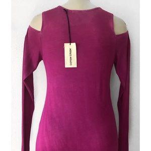 Cotton Citizen Dresses - 🆕 COTTON CITIZEN COLD SHOULDER LS MAXI DRESS S